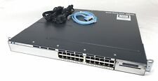 Cisco Catalyst 3750X 24 Port Gigabit Switch Ws-C3750X-24T-S with Rack Mounts