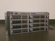 HP Procurve 4108GL Network Switch 8x J4908A Gigabit 100/1000 Modules | 5291