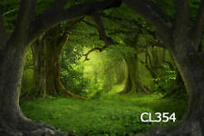 9X6FT Fairy Tale Jungle Forest Thin Vinyl Photography Backdrop Background CL354