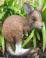 29cm Kangaroo / Joey - Australian Native Animal Garden Ornament Statue