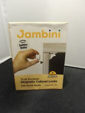 Jambini M072 Magnetic Cabinet Locks Baby Proofing