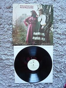 Shirley And Dolly Collins & For As Many As Will Vinyl UK 1978 Topic Label LP EXC