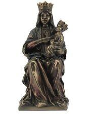 "6.75"" Black Madonna of Czestochowa Our Lady of Statue Scultpture Figure"