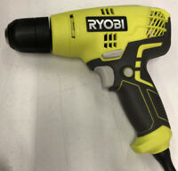 Ryobi D43 5.5 Corded 3/8 Inch Variable Speed Compact Drill Driver RR368