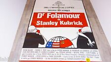 stanley kubrick DOCTEUR FOLAMOUR  ! peters sellers affiche cinema