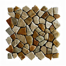 1 qm M-005 Boden Wand Fliesen Naturstein - Mosaik Lager Steinmosaik NRW Herne