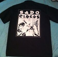 FOLTER SADO CIRCUS WORK SHIRT SZ. L PUNK ROCK GOTH METAL ROCKABILLY SCENE RETRO
