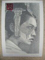 Fin Dac Signed + ed100 'Fǎnhuí' Postcard Print (+banksy martin whatson photos)