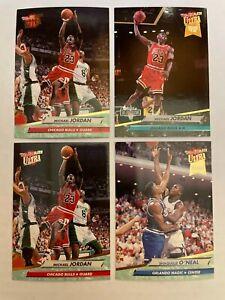 1992-93 Fleer Ultra Basketball Complete Set 1-375 Shaq RC + Extra Jordan