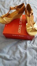 Marco Tozzi Wedge Sandals UK Size 6.5/EU 40