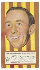 1953 Argus Football Portraits (4) John KENNEDY Hawthorn