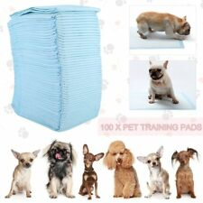 100 piezas de Mascotas Pañales 60x90cm Inodoro Pee Mat Súper Absorbente Mascota formación Pads caliente