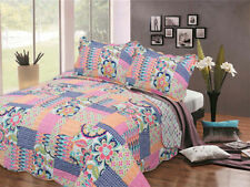 Unbranded Patchwork Decorative Bedspreads