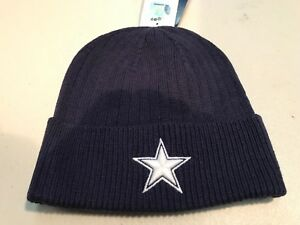 DALLAS COWBOYS NFL MITCHELL AND NESS CUFF WINTER KNIT HAT FREE SHIPPING