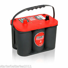 Optima Red Top RTS4.2 (8002-250) VRLA AGM SPIRAL CELL 12V Car Battery - TYPE 072