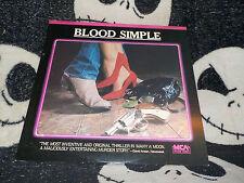 Blood Simple Laserdisc LD Coen Brothers Frances McDormand Free Ship $30 Orders
