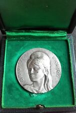 Brigitte Bardot 1966 dated Solid silver boxed Medal 41 mm by C. Lesot hallmarked