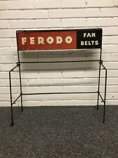 Vintage Ferodo advertising sign / Display Stand Automobilia
