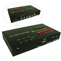 EZCAP283S HD Video Capture 1080P AV/HDMI/Ypbpr Recording for HD Camera TV Game