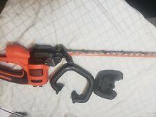 Black+Decker Beht200 Corded Electric Hedge Trimmer - Orange 22inch