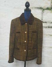 Ladies Vintage Jobis Jacket Plaid