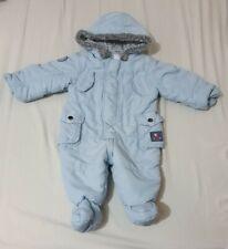 6-9 month Boys Snowsuit jasper conran junior debenhams blue (P)