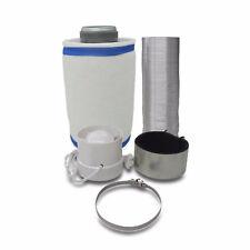 Abluft-Filter Grow Klima Set Ø100mm bis 310m³/h Luftmengenvol. Homegrow Indoor