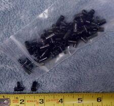 Lot of 50 Black Nylon Sinker Slides for Fish Finder Bait Rigs *No Snap Included*