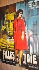 FILLES DE JOIE  !  affiche cinema prostitution 1962