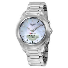 Tissot T-Touch Solar Lady Mother of Pearl Dial Stainless Steel Ladies Watch
