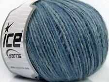 50g  Farbverlauf Wolle Winter Blue Shades *ICE YARNS*  50%Wolle 180m / 50g