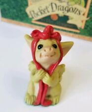 """""""Red Ribbon"""" Whimsical World of Pocket Dragons by Real Musgrave with Box"""