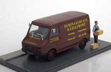 DIORAMA CITROEN C35 TOLE LALLEMENT DEMENAGEMENT MARRON EDITIONS ATLAS 1/43 COLIS