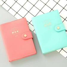 Stationery Travel Journal Calendar Diary Planner Notepad Schedule Notebook J
