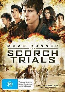 Maze Runner: The Scorch Trials  - DVD - NEW Region 4