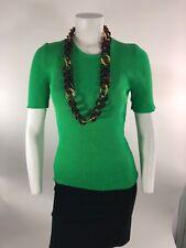 KJL Kenneth Jay Lane x Kate Spade tort link gold resin necklace NWT