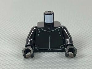 LEGO Minifigure Torso - Black - Star Wars First Order Crew Member Uniform (x1)
