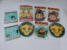 Disney Lion King Birthday Party Pack Children 8 pc L1