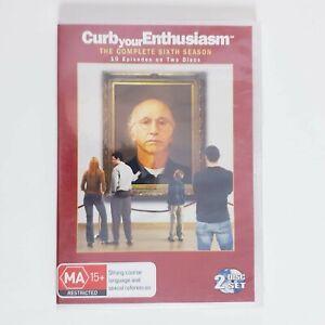 Curb Your Enthusiasm DVD TV Series Season 6 Region 4 AUS - 2 x Disc Set