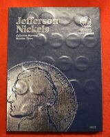 1996-2021 JEFFERSON NICKEL SET 55 COINS NEW WHITMAN FOLDER ALBUM BOOK CIRCULATED