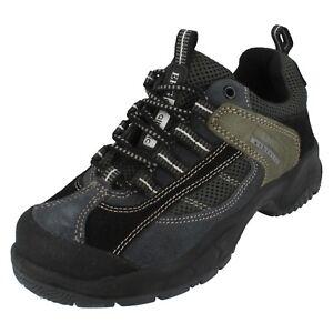 Damen Stahlkappe Grün/Schwarz/Blau Arbeit Schuhe Größe UK 5 Brand Forma Stil