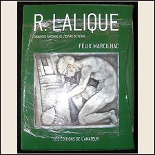 Felix Marcilhac Catalogue Raisonne R. Lalique Glass Works Large Book New