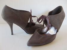6b13f53991f375 VICTORIA DELEF ° elegante PUMPS Gr. 41 grau Damen Schuhe High Heels  Mary-Janes
