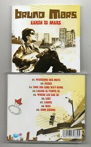 Bruno Mars - Earth To Mars   (CD 2011)    RARE Early Recordings & Demos