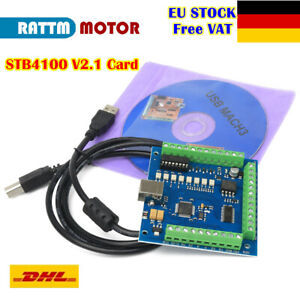 【DE】USB Mach3 Motion Control Card STB4100 V2.1 CNC Router Engraving