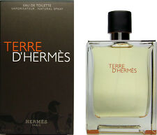 Hermes Terre D'Hermes Eau De Toilette For Men 6.7 oz - 200 ml New in Box