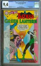 BRAVE AND THE BOLD #59 CGC 9.4 WHITE PAGES // BATMAN + GREEN LANTERN STORY 1965