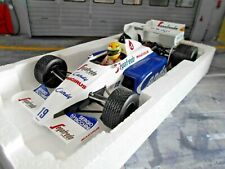 F1 TOLEMAN Hart Turbo TG184 Monaco GP 1984 #19 Senna Segafredo Minichamps 1:18
