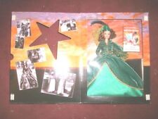 Scarlett O' Hara Barbie Gone With the Wind Green Dress Right from the Shippers