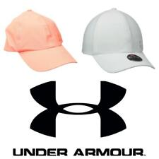 New Under Armour Links Ladies Golf Cap. London Orange or White. One Size